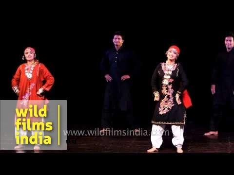 Dhumal, one of the popular folk dances of Jammu and Kashmir
