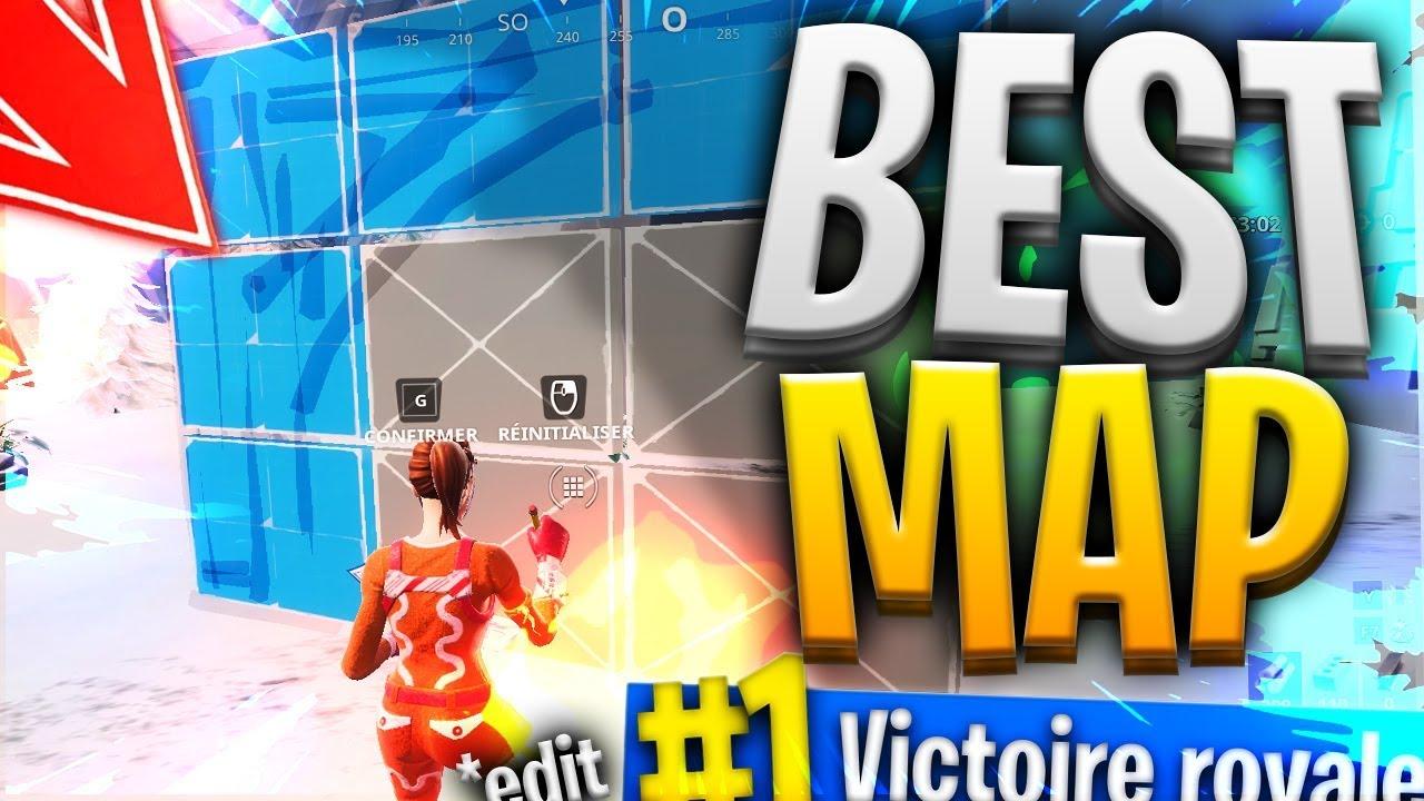 la meilleure map d edit code sur fortnite battle royale - map edit fortnite lebouseuh code
