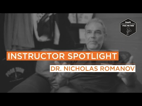 Instructor Spotlight - A Brief Interview with Dr. Nicholas Romanov
