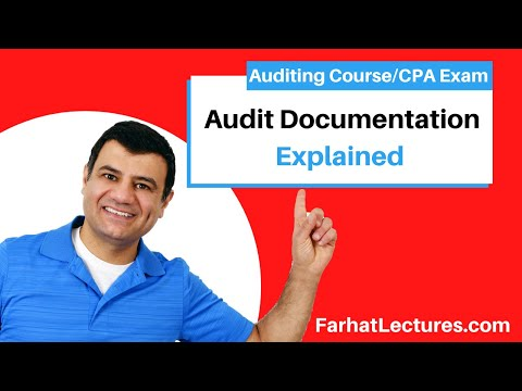 Audit Documentation | Auditing And Attestation | CPA Exam