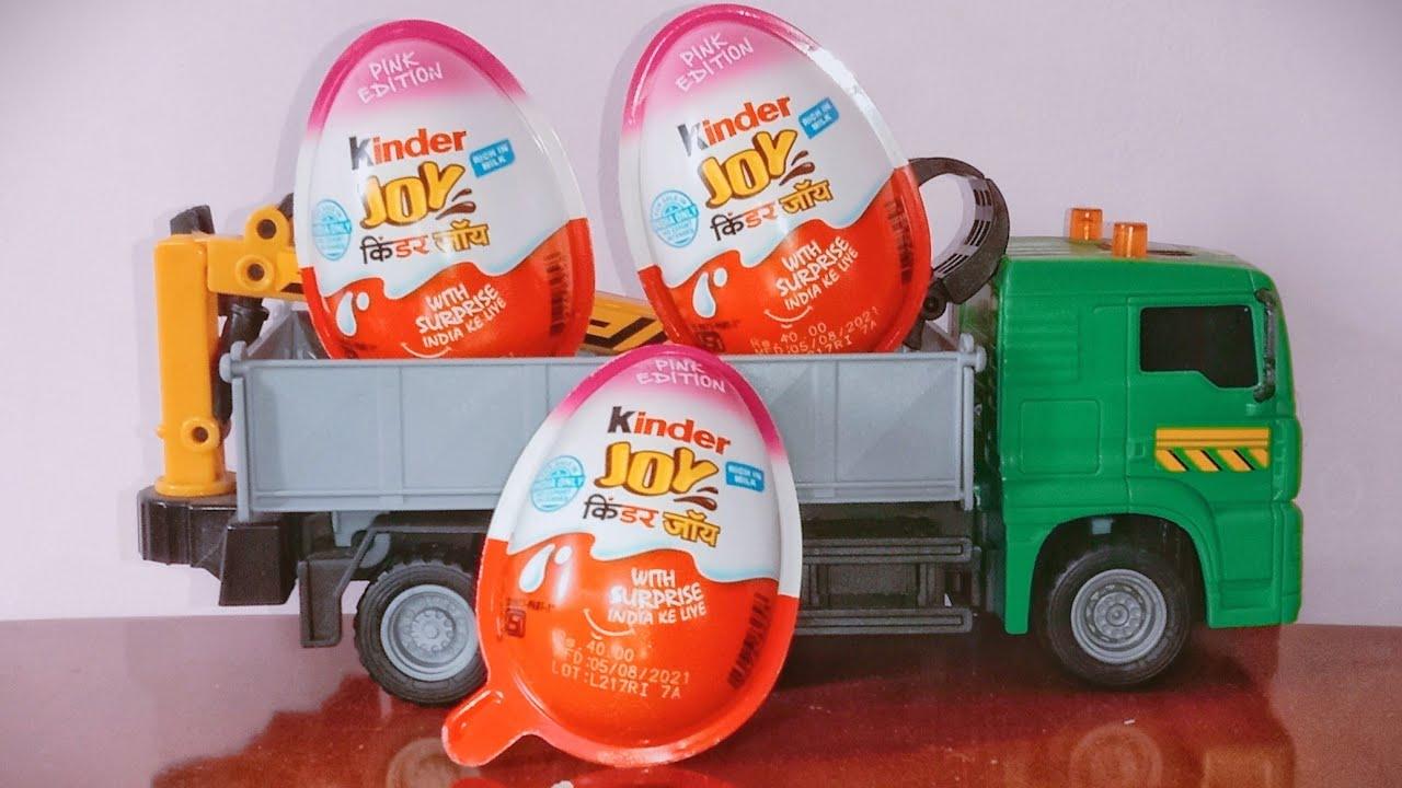 New Kinder Joys Surprise Disney Marvel Toys Unboxing video Kids Video Tv हिंदी