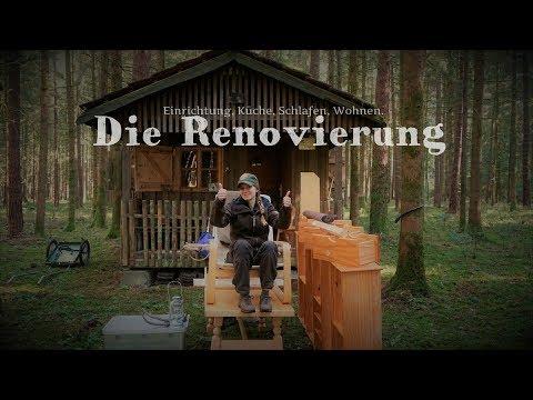 ????????????Waldhütte????#3 Die Einrichtung - Küche, Schlafen, Wohnen - Vanessa Blank 4K