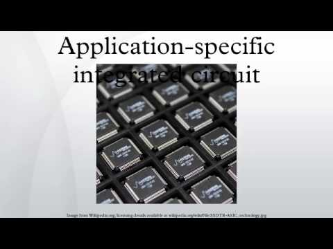 Application-specific integrated circuit