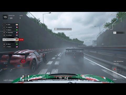 GT SPORT Tokyo Expressway - Central Outer Loop Test Race Honda NSX GT3 Onboard