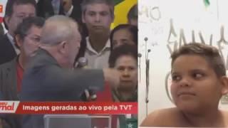 Lula diz que é mais honesto do que Jesus Cristo .