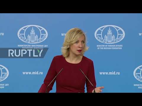 Russia: Zakharova slams US Air Force for hindering anti-IS campaign