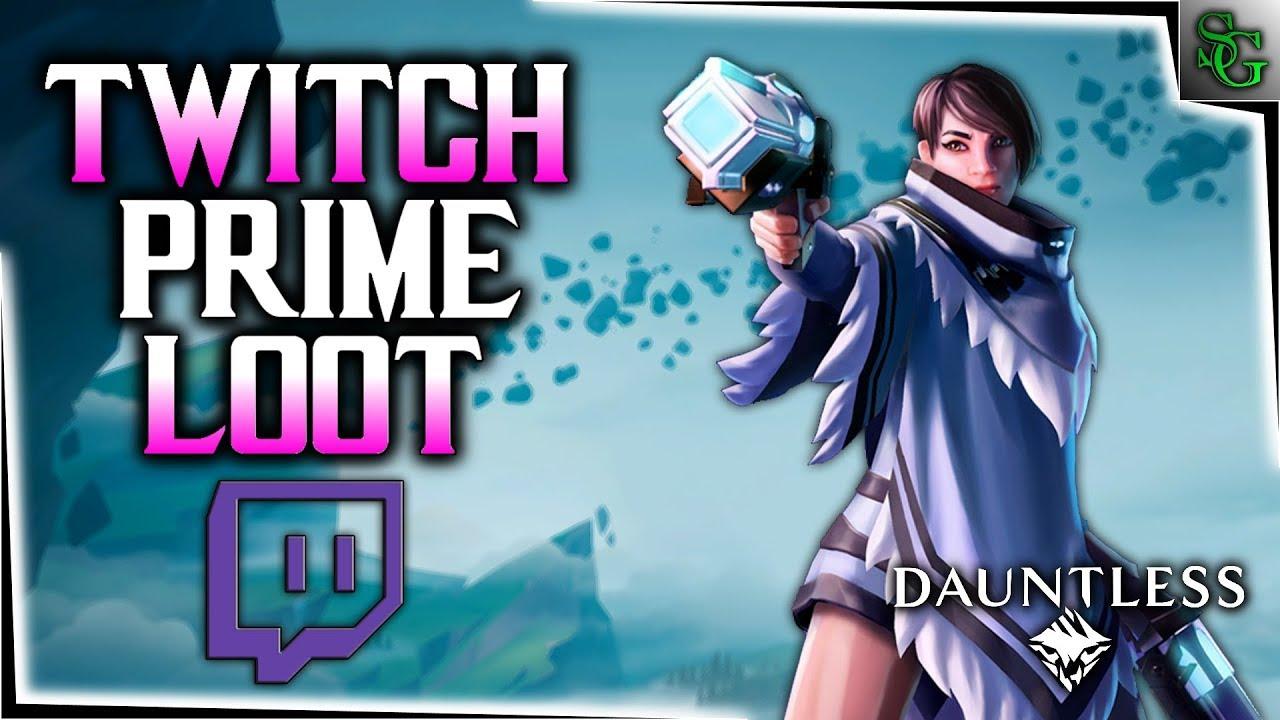 Dauntless - Twitch Prime Loot - Desperado's Cloak & More