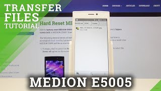 How to Transfer Photos in MEDION E5005 - Move Media