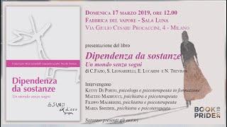 Bookpride Milano 17 marzo 2019 - Dipendenze -
