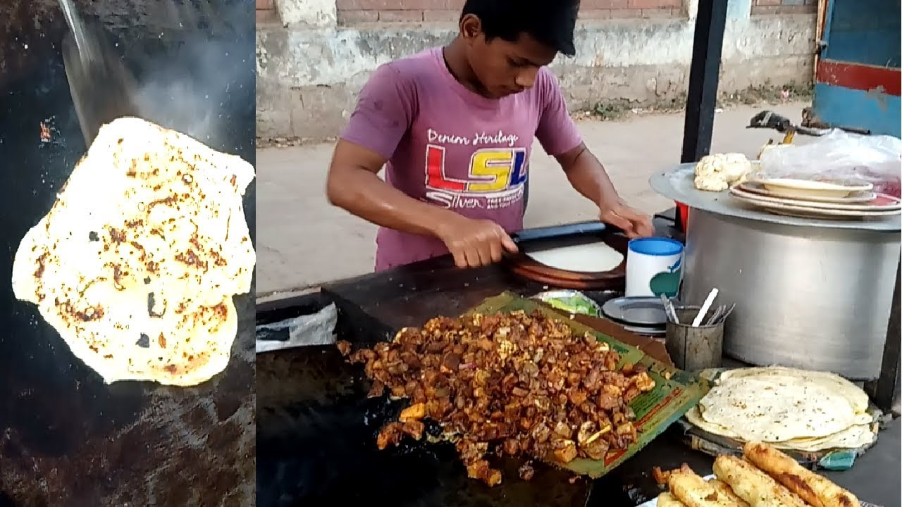 Bengali street food street food of dhaka street food new ruti bengali street food street food of dhaka street food new ruti bread making man in bangladesh forumfinder Gallery