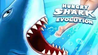 ATAQUE DE TUBARÕES! - Hungry Shark Evolution #1 (EVO) - NOVO JOGO!