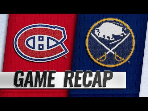 Pominville, Okposo lead Sabres past Habs, 4-3