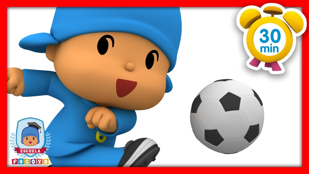 🎓 Escuela Pocoyó - ⚽️ Aprende Depotes: Fútbol | Caricaturas y dibujos animados educativos para niños