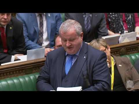 Ian Blackford SNP MP _ Brexit Draft Agreement