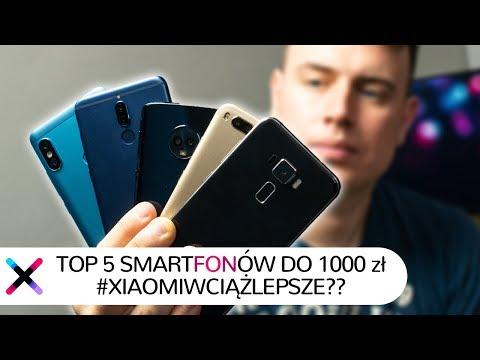 TOP 5 smartfonów