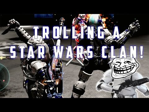 JOINING A STAR WARS CLAN (Halo 5 trolling)