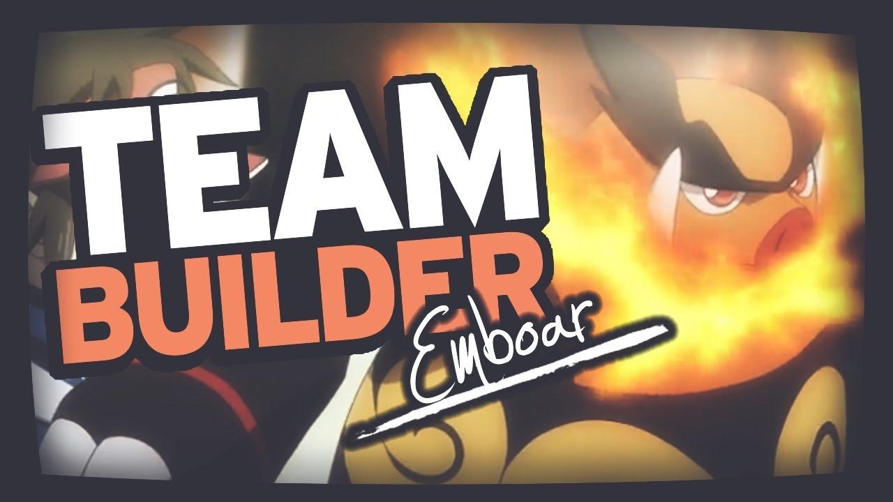 Pokemon Team Building | Black 2 & White 2 | Tepig, Pignite & Emboar