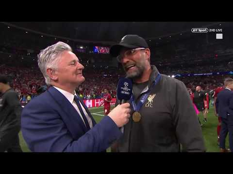 """""""Have you ever seen a team like this?!"""" Jurgen Klopp reacts to winning the Champions League"""