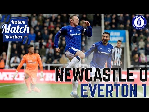 Rooney Does It Again | Newcastle United 0-1 Everton
