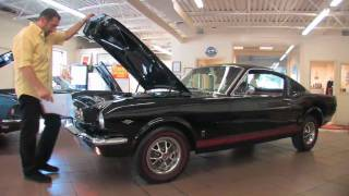 1965 Mustang GT Fastback for sale with test drive, driving sounds, and walk through video