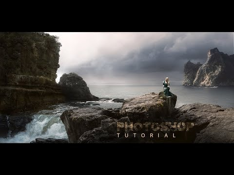 How To Create Matte Painting [vfx Style] !! Photoshop Tutorial !! Step By Step !!