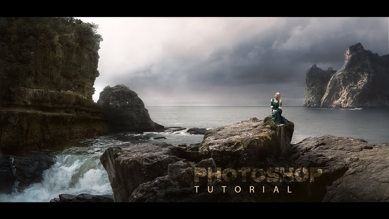 How To Create Matte Painting Vfx Style Photoshop Tutorial Step By Step Youtube