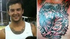 aj mccarron tattoo 2013