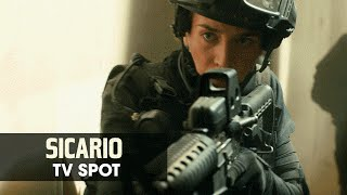 "Sicario (2015 Movie - Emily Blunt) Official TV Spot – ""Land of Wars"""