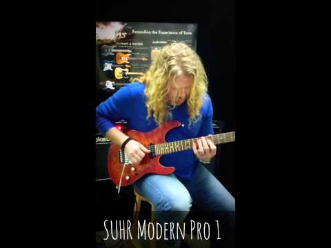 Mark Dunn demos The Suhr Modern Pro 1 HH Electric Guitar