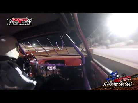 #113 Billy Tidwell - HotShots - 4-27-19 Talladega Short Track - In Car Camera