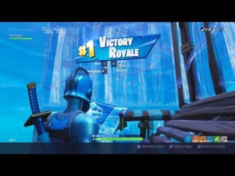 Fortnite | 14 Kill Solo Win | Frozen Red Knight