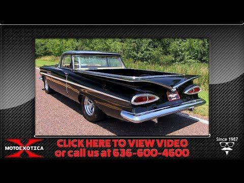 1959 Chevrolet El Camino || For Sale