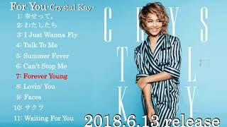"""クリスタル・ケイのニュー・アルバムの断片 """"For You"""" アルバムは、2018..."""