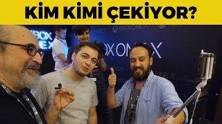 TAMER'İ ÇEKEN ENİS'İ ÇEKTİK!?! XBOX ONE X LANSMANI