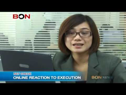 Chinese Reaction to the execution of British drug smuggler, Akmal Shaikh - BON TV