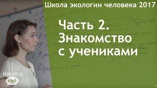 видео 2. Знакомство.