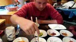 Chopstick fight w/4 beans, wanne challenge?
