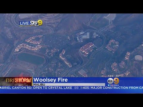 Woolsey Fire Burn Area: Pepperdine University Malibu Campus