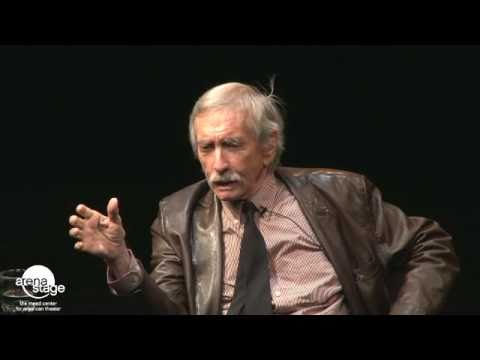 "Molly Smith interviews Edward Albee during ""An Evening with Edward Albee"""