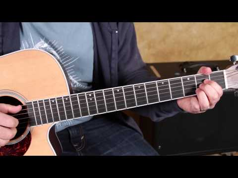Black Keys - Little Black Submarines - How to Play on Guitar - Finger Picking  blues rock