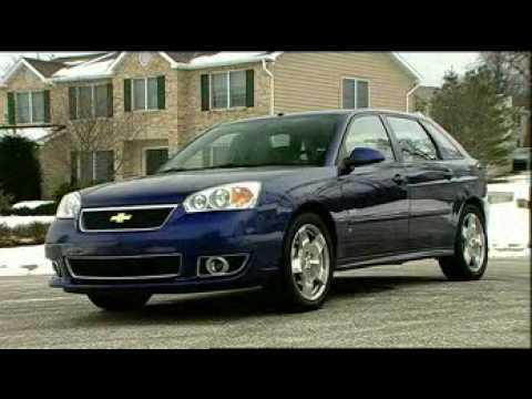 Motorweek Video Of The 2006 Chevrolet Malibu Maxx Ss Youtube