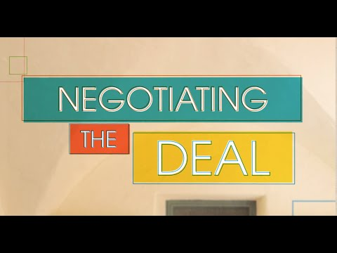 Financing Your Venture: Angel Investment - Negotiating the Deal