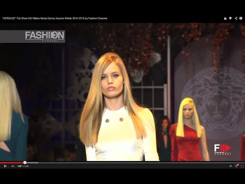 """VERSACE"" Full Show HD Milano Moda Donna Autumn Winter 2014 2015 by Fashion Channel"