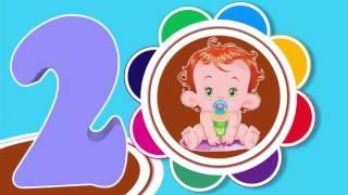 Скачать Песенка для детей Считалочка Учим счет до 5