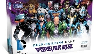 DC Comics Deck-Building Game: Forever Evil review - Board Game Brawl