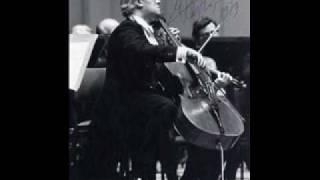 "Mstislav Rostropovich: Aria ""Vouchsafe, O Lord"" by George Frideric Handel"