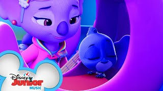 K.C.'s Lullaby 🎶| Music Video | T.O.T.S. | Disney Junior