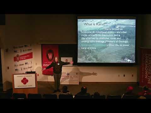 WN@TL - Wisconsin's Karst Aquifers. Maureen Muldoon. 2019.02.19
