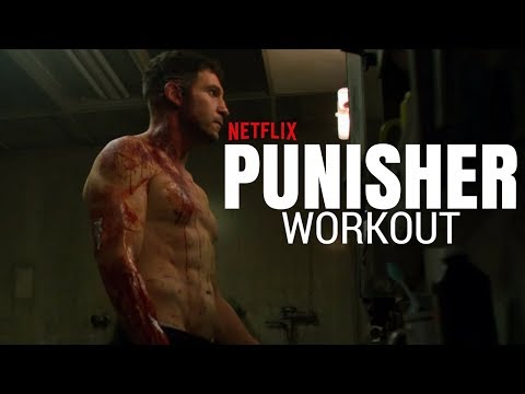 Netflix's The Punisher Hardcore Workout  Frank Castle