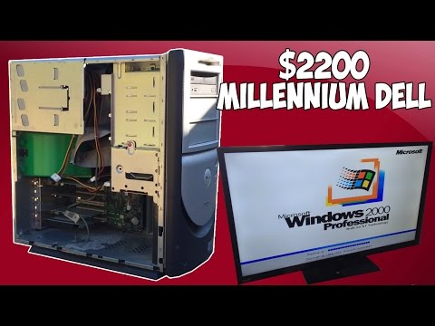 The $2200, 17 Year Old Dell Desktop | A Retrospective